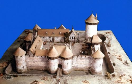 maquette bois chateau fort. Black Bedroom Furniture Sets. Home Design Ideas