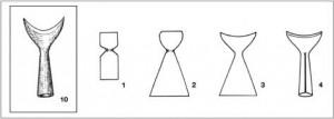 arc, archerie, arme, armement, flèche, flèches, pointe de flèches en croissant